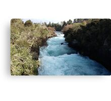 Blue Ribbon River Canvas Print