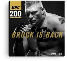 Brock ufc Canvas Print