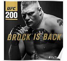 Brock ufc Poster