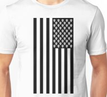 Day of the Dead American Flag Unisex T-Shirt
