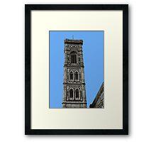 Campanile Florence Framed Print