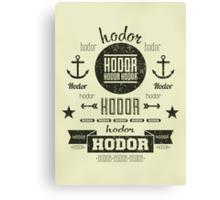 Hipster Hodor  Canvas Print