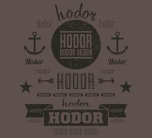 Hipster Hodor  Kids Clothes