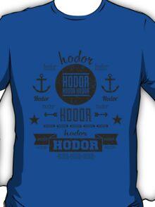 Hipster Hodor  T-Shirt