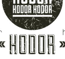 Hipster Hodor  Sticker