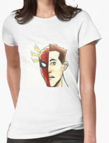 Spider Sense Womens Fitted T-Shirt