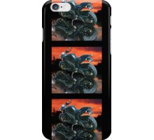 Motorcycle sunset iPhone Case/Skin