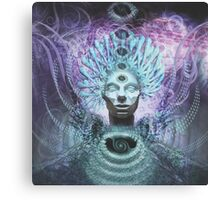 Psychedelic Chieftain Visionary Artwork Prints Canvas Print