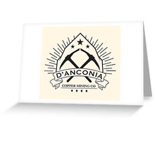 D'Anconia Copper Greeting Card