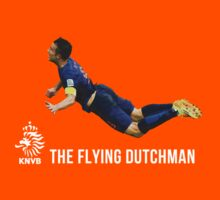Robin van Persie header - The flying dutchman by MalcolmWest