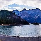 Upper Kananaskis Lake by Yukondick