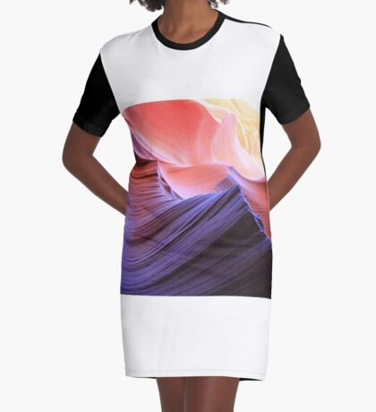 coloured rocks Graphic T-Shirt Dress