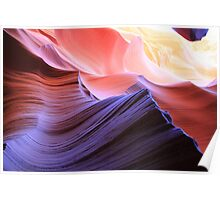 coloured rocks Poster