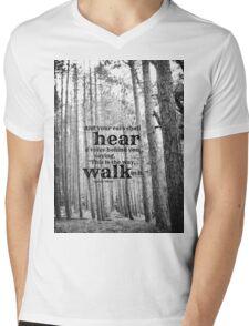 Isaiah 30 Walk Mens V-Neck T-Shirt