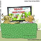 Graze Anatomy For Cow Viewing by Rick  London