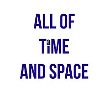 All of Time And Space by booksandshows
