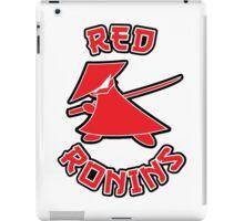 Red Ronins iPad Case/Skin