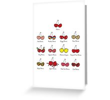 I Love My Cheeky Cherries! Greeting Card