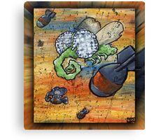 buzzzzzz bomb Canvas Print