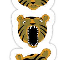Tiger Buttons Sticker