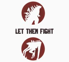 Godzilla & Muto; Let Them Fight 2 by haileyjft