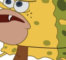 Caveman Spongebob Sticker