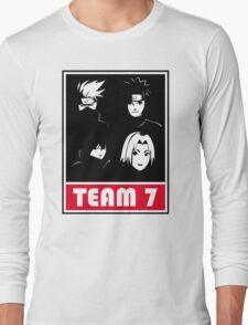 kakashi uzumaki sasuke sakura Long Sleeve T-Shirt