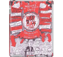 2016 May Day Poster...another election year iPad Case/Skin