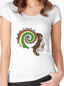 Shiny, Cap'n! Women's Fitted Scoop T-Shirt