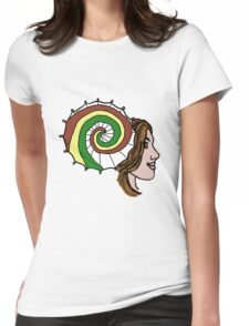 Shiny, Cap'n! Womens Fitted T-Shirt