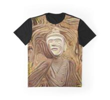 Buddha Asks Why 4 Graphic T-Shirt