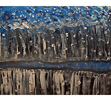 painting abstract  Photographic Print
