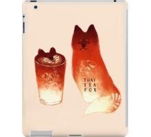 Thai Tea Fox iPad Case/Skin