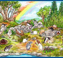 Rainbow Garden by drusillak