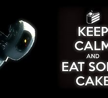 Glados - Portal - Keep Calm by jen7angel