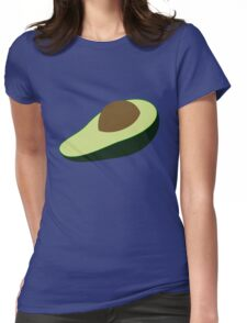 Avocados are alligator pears or fertility fruit Womens Fitted T-Shirt