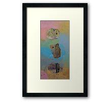 Three Little Hamsters Framed Print