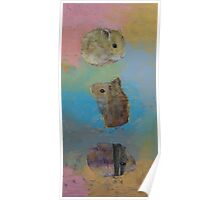 Three Little Hamsters Poster