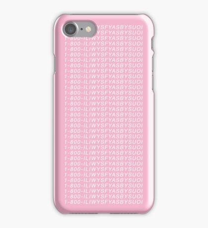 1-800-ILIWYSFYASBYSUOI  iPhone Case/Skin