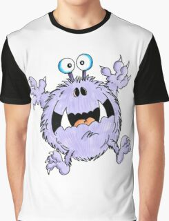 Frightened Fred Graphic T-Shirt