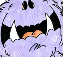 Frightened Fred Sticker