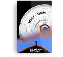 Star Trek II: The Wrath of Khan Metal Print