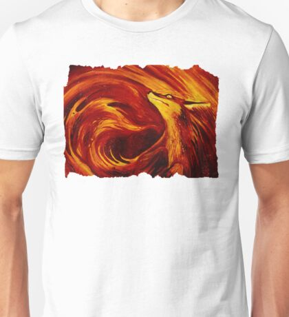 Fire's Embrace Unisex T-Shirt
