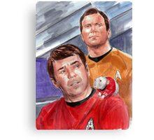 Scotty's Rat on the Enterprise Canvas Print