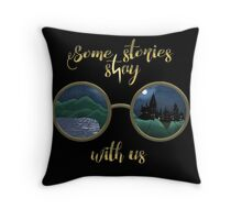 Some stories stay with us  Throw Pillow