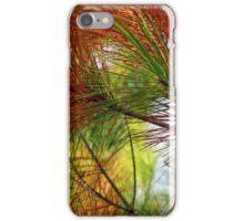 pine brush iPhone Case/Skin