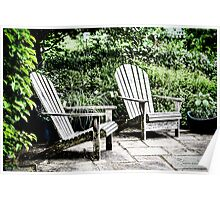 Outdoor Seating Available Poster