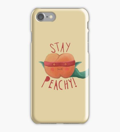 stay peachy  iPhone Case/Skin