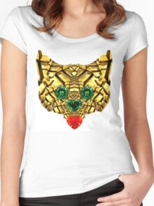 golden fox  Women's Fitted Scoop T-Shirt