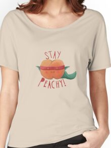 stay peachy  Women's Relaxed Fit T-Shirt